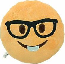 WEP Emojis Smiley Emoticon-Kissen, gefülltes