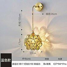 WEPAINTING Japanische handgemachte Glaswandlampe