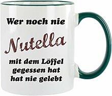 Wer noch nie Nutella mit dem Löffel gegessen hat,