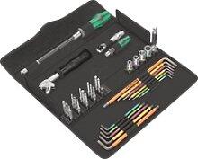 WERA 05134013001 - Werkzeugsatz, Schraubset, F1,