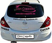 Werbung Autobeschriftung mit Logo Stella und Ihrer