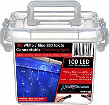 WeRChristmas 100Anschließbare Eiszapfen LED