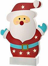 WeRChristmas bunt Santa Tisch Weihnachten