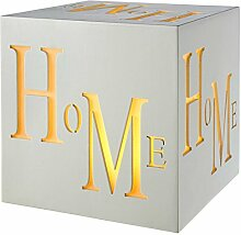 WeRChristmas LED Home Block Dekoration, Wolle,