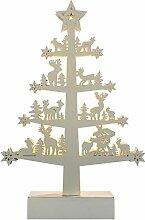 WeRChristmas Rentier Baum Tisch Weihnachten