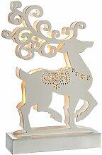 WeRChristmas Rentier Tisch Weihnachten Dekoration,