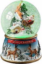 WeRChristmas Schneekugel mit Weihnachtsmann und
