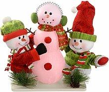 WeRChristmas Schneemänner bauen einen Schneemann,