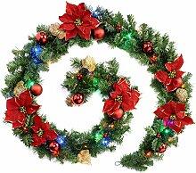 WeRChristmas Weihnachtsdeko-Girlande, mehrfarbig