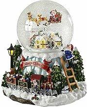 WeRChristmas Weihnachtsdeko, Schneekugel mit Dorf-