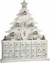 WeRChristmas Weihnachtsdekoration Holz Baum
