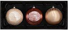 WeRChristmas Weihnachtskugeln aus Glas, Sweet