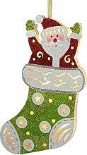 WeRChristmas Weihnachtsmann im Weihnachtsstrumpf
