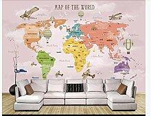 WEREWTR 3D tapete Cartoon Weltkarte Hintergrund