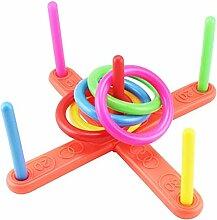 Werfen Ring-Spielzeug mit 4 Ringen Wasser Spiel