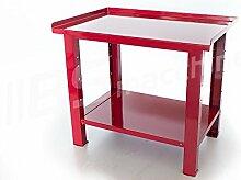 Werkbank 1mt. Mit Plan aus schwerem Edelstahl Serie Work Steel Sogi X3–09