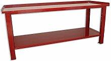 Werkbank Arbeitstisch aus Stahl 2007X 705x 855Serie Industrie Sogi X3–11
