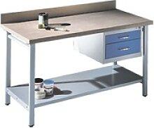 Werkbank mit Schubladenblock - 150 cm breit