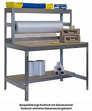 Werkbank - Packtisch, 900 mm brei