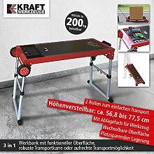 Werkbank Rollbank Werktisch Arbeitstisch 3in1