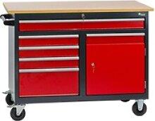 Werkbank / Werktisch, mit 5 Schubladen, 1