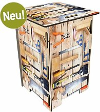Werkhaus Photohocker Werkzeug Sitzhocker