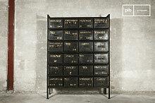 Werkstattmöbel Industriedesign mit 24 Schubladen