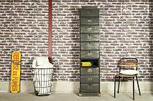 Werkstattmöbel mit 10 Klappen Industriedesign