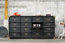 Werkstattmöbel mit 16 Fächern Industriedesign