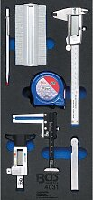 Werkstattwageneinlage 1/3: Messwerkzeug-Satz |