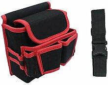 Werkzeug-Gürteltasche mit mehreren Taschen und