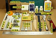 Werkzeuge Leather Craft Tool Kit Leder Hand