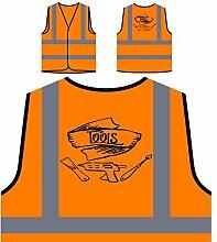 Werkzeuge Personalisierte High Visibility Orange