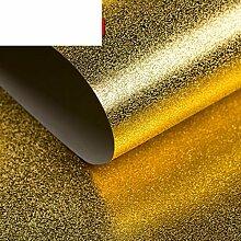 Werkzeuge solide schlicht Gold Leaf Wallpaper goldene Luxus gefrostet Tapete KTVHotel Hintergrund Werkzeuge home Improvement Wohnzimmer-Tapeten-A
