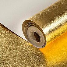 Werkzeuge solide schlicht Gold Leaf Wallpaper