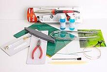 Werkzeuge und Zubehör für Buntglas -