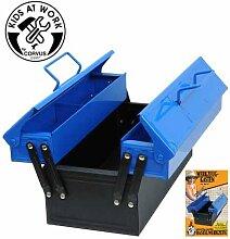 Werkzeugkasten blau