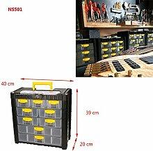 Werkzeugkasten Kleinteilemagazin Multicase Cargo