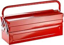 Werkzeugkasten / Werkzeugkoffer Vollmetall leer