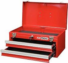 Werkzeugkiste 2 Schubladen u. Oberfach aufklappbar