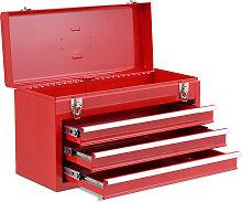 Werkzeugkiste 3 Schubladen Werkzeugkoffer