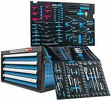 Werkzeugkiste 4 Schubladen gefüllt mit CR-V