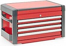 Werkzeugkiste - Aufsatz - rot/schwarz - 4
