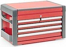 Werkzeugkiste - Aufsatz - rot/schwarz - 5