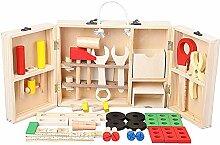 Werkzeugkoffer Aus Holz, Holz Werkzeugkasten Und