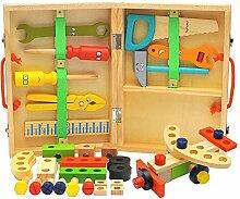 Werkzeugkoffer Aus Holz, Spielwerkzeugen Von