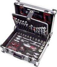 Werkzeugkoffer B147, 1/4+1/2, 158-tlg