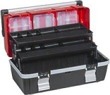 Werkzeugkoffer mit ausschiebbaren regalen mcplus