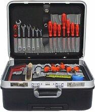 Werkzeugkoffer mit Rollen + VDE Werkzeugsatz
