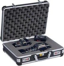 Werkzeugkoffer mit schaumpolsterung, 445 x 370 x